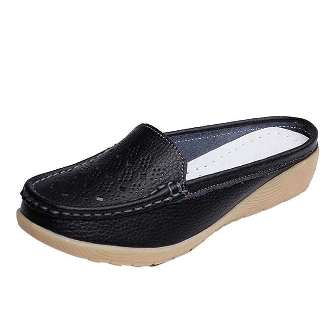 Amazon.com: DENER - Zapatillas para mujer y niña con puntera ...
