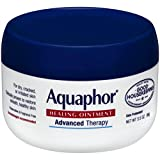 Beauty : Aquaphor Advanced Therapy Healing Ointment Skin Protectant 3.5 Ounce Jar (Pack of 3)