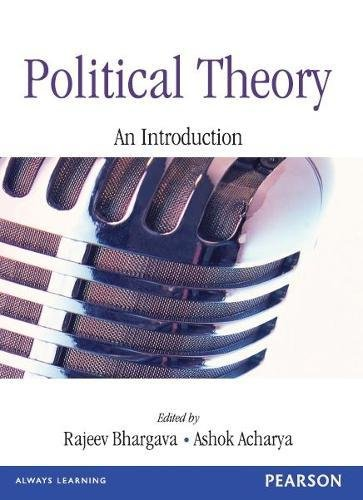 Political Theroy An Introducation(Two Co: An Introduction