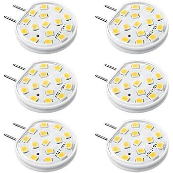 Bonlux Led G8 Light Bulb 2 Watts Warm White T4 G8 Base Bi