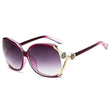 Gafas de sol mujer marea 2018 caja grande gafas de sol cara ...