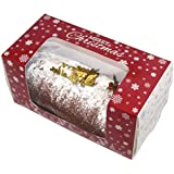Premium Windowed Christmas Chocolate Log Boxes 8x4xof 10 by Cater For You