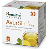 Himalaya Ayurslim Tea- Supports Healthy Weight Management ( Pack of 4= 10 X4 )