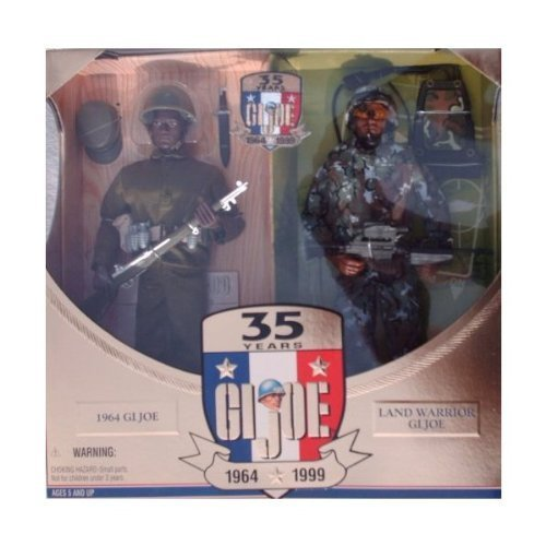 Gi Joe Action Marine (G.I. Joe 35th Anniversary Action Soldier Then & Now African-American 12