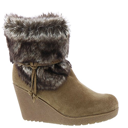 Wedge Snow Boots - BEARPAW Women's Penelope Boot, Hickory Ii, Size 8.0