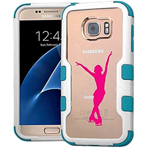 Galaxy S7 Case Skater, Extra Shock-Absorb Clear back panel + Engineered TPU bumper 3 layer protection for Samsung Sales
