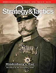 Dg: Strategy & Tactics Magazine #288, With Hindenburg's War, Decision In The Trenches, 1918, Board Game