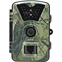 Kshioe Trail Camera,1080P 12MP HD 2.4 LCD Gaming Surveillance Wildlife Hunting Camera with 940nm Upgrading IR LEDs Night Vision up to 65ft IP66 Water Resistance for Game & Home Securit