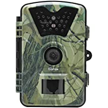 "Kshioe Trail Camera,1080P 12MP HD 2.4"" LCD Gaming Surveillance Wildlife Hunting Camera with 940nm Upgrading IR LEDs Night Vision up to 65ft IP66 Water Resistance for Game & Home Securit"