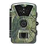 Kshioe Trail Camera,1080P 12MP HD 2.4'' LCD Gaming Surveillance Wildlife Hunting Camera with 940nm Upgrading IR LEDs Night Vision up to 65ft IP66 Water Resistance for Game & Home Securit
