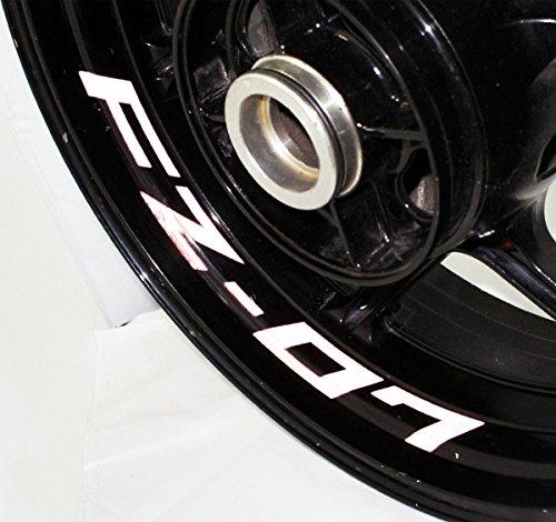 AFBA Yamaha FZ07 Inner Rim Motorcycle Sticker Decal Stripe Gloss - Rim Inner