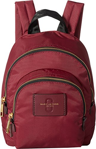 Marc Jacobs Mini (Marc Jacobs Women's Mini Double Pack Backpack, Burgundy, One Size)