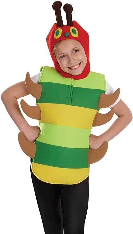 Fun Shack Verde Oruga Disfraz para Niños y Niñas - L: Amazon.es ...