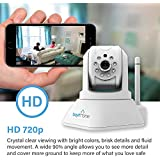 Bayit ProHD 720P Wi-Fi Camera (BH1960WH) Indoor Pan/Tilt 360 Degree Security Wireless IP Camera (White)