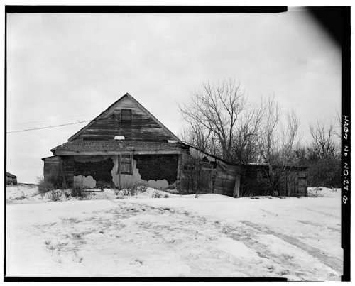 Photo: 6. EXTERIOR VIEW OF EAST SIDE - Christian Scheid House,Beulah,Mercer County,ND by Infinite Photographs