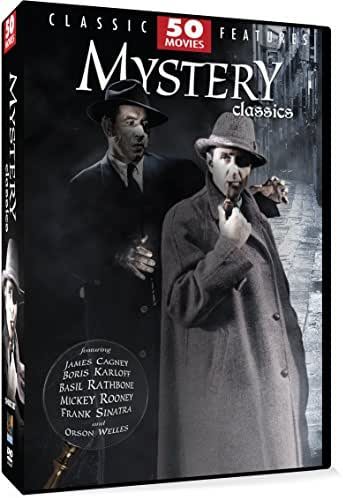 Mystery Classics - 50 Movie Pack: Algiers - Bulldog Drummond Escapes - Dick Tracy Meets Gruesome - The Man on the Eiffel Tower - Mr. Moto's Last Warning + 45 more!