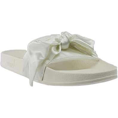 size 40 8ced3 8d2a2 Amazon.com | PUMA Mens Fenty by Rihanna Bow Slide Casual ...