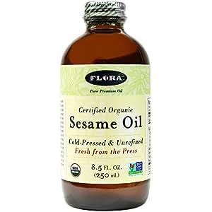Sesame Oil-Organic Flora Inc 8.5 oz Liquid