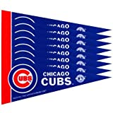 Chicago Cubs 8 Piece Mini Pennant Set