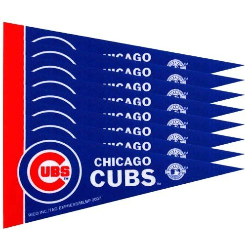 Chicago Cubs 8 Piece Mini Pennant -