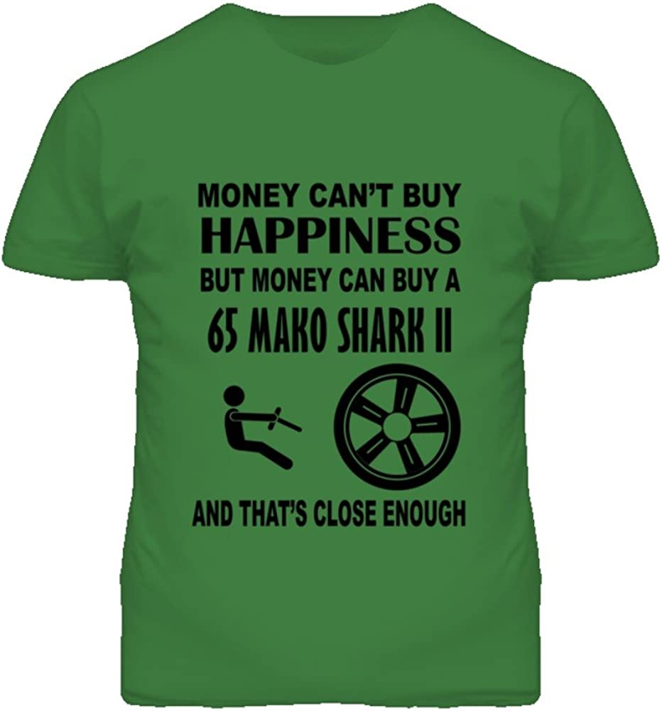 Money Cant Buy Happiness But It Can Buy A 1965 Chevy Mako Shark II T Shirt
