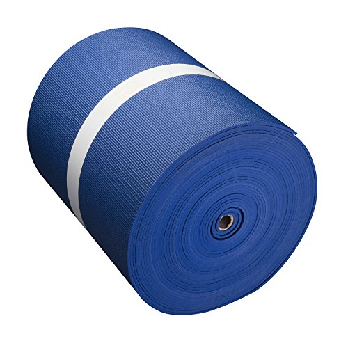 Big Economy Yoga Mat Roll (24''x 5mm x 104 ft) (Blue) by Hello Fit
