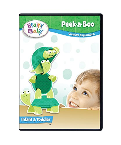 Brainy Baby Peek A Boo Infant DVD Creative Exploration Deluxe Edition ()