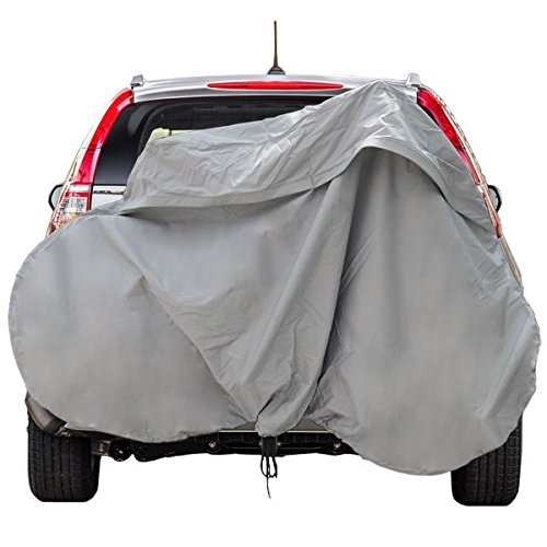 Deluxe Bike Rack Cover Hitch Mounted SUV Truck RV Hanging Racks up to 3 (Bike Rack Covers)