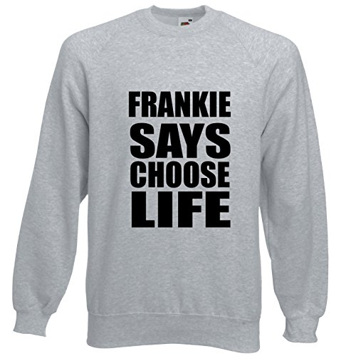 Frankie Says Choose Life 80s Crossover Sweatshirt - S to XXXL