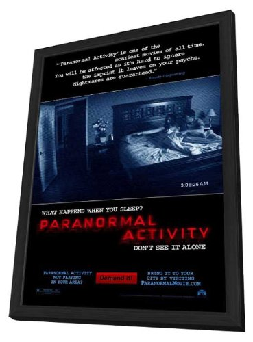 Paranormal Activity 11 x 17 Movie Poster - Style A - in Deluxe Wood Frame by Pop Culture