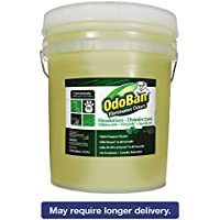 OdoBan Professional Series Deodorizer Disinfectant, 5gal Pail, Eucalyptus Scent - one 5-gal pail.