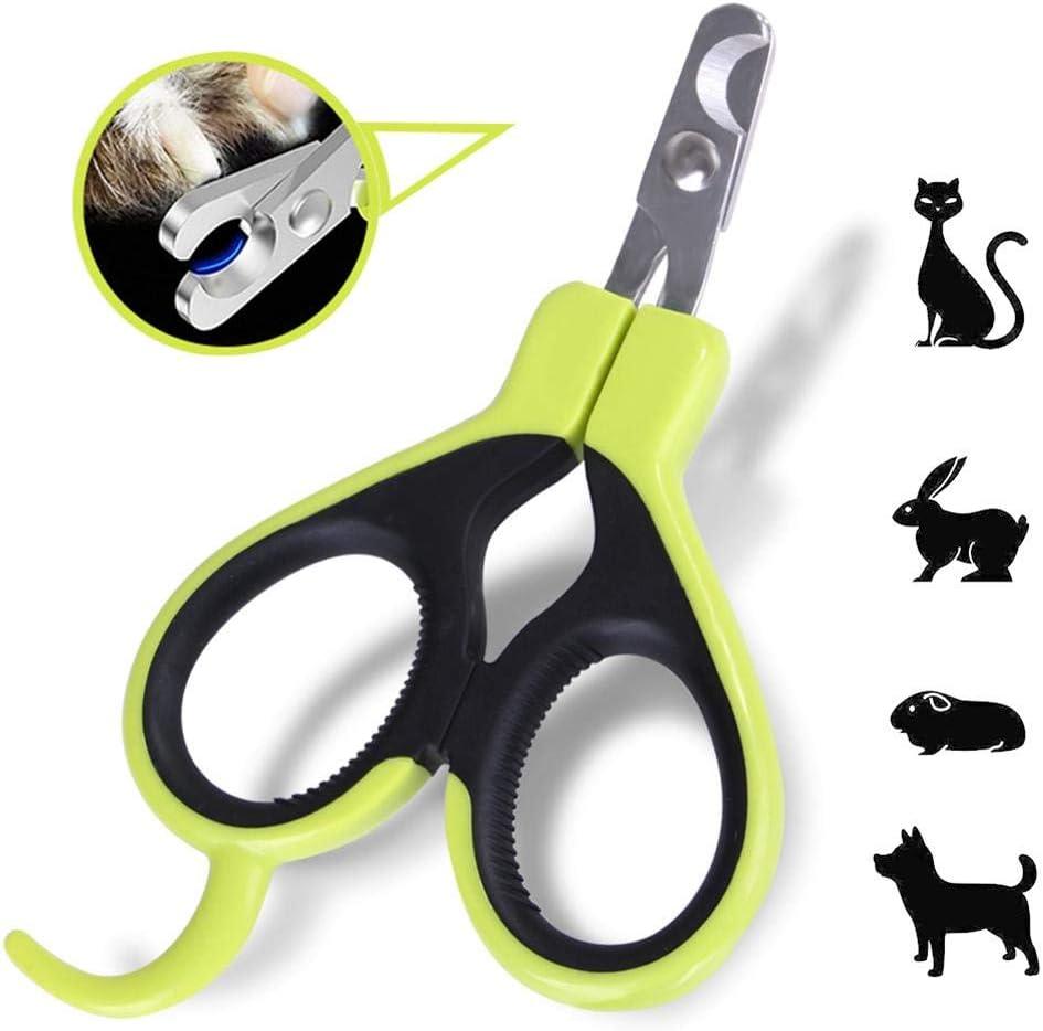 afto mket Cortaúñas para Mascotas, Cortaúñas Profesional, para Gatos, Conejos, Cachorros, Hámsters, Chinchillas, Conejillos De Indias Y Conejos