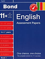 Bond Assessment Papers in English 10-11 years New Edition