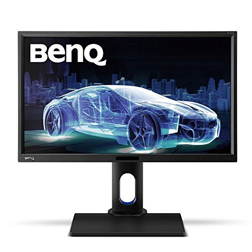 BenQ BL2420PT 24 inch QHD 1440p IPS Monitor | 100% sRGB |AQCOLOR Technology for Accurate Reproduction for Professionals (Best Monitor For 100)