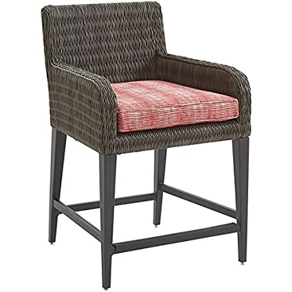 Tommy Bahama Cypress Point Ocean Terrace 22u0026quot; Patio Counter Stool