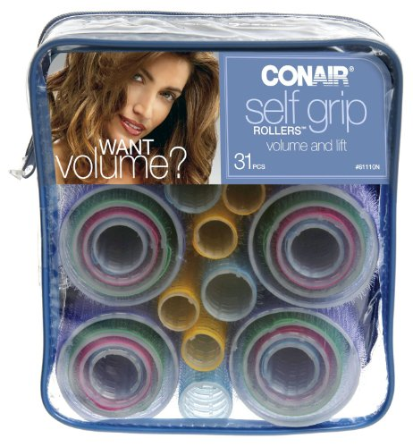 Conair Self-Grip Rollers, Assorted, 31 Count (6-Pack) by Conair