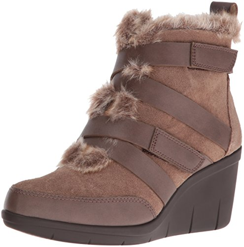 Boot Aerosoles Taupe Women's Interview Suede qBBOwSx