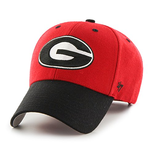 '47 NCAA Georgia Bulldogs Audible Two Tone MVP Hat, One Size