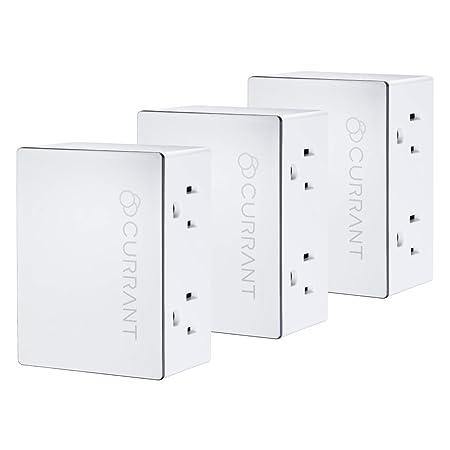 Currant Smart Outlet Bundle - 3 Dual Smart Plugs to Control 6 Devices - - Amazon.com