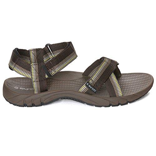 Rafters Menƒ_Ts Horizon Sport Sandals Brown Multi-249 (Mens Rafters)