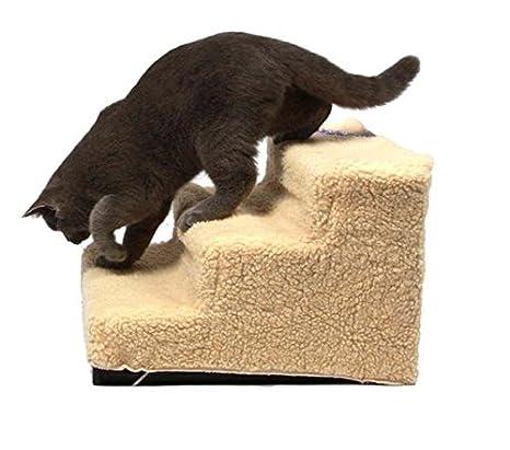 Skylink – escaleras para mascota, para colocarlas en camas altas, para perro y gato: Amazon.es: Productos para mascotas