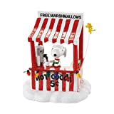 Department 56 Peanuts Village Snoopy's Cocoa Stand Accessory, 4.13 inch