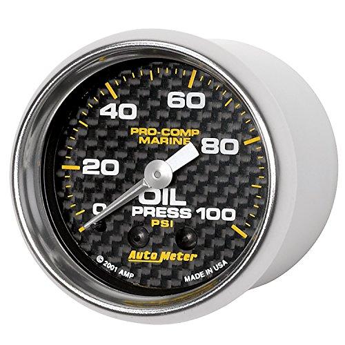 Auto Meter AutoMeter 200790-40 Gauge, Oil Pressure, 2 1/16