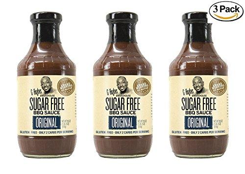 G Hughes Original Sugar Free BBQ Sauce 18 oz