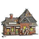 Department 56 Snow Village Halloween Rickety Railroad Station