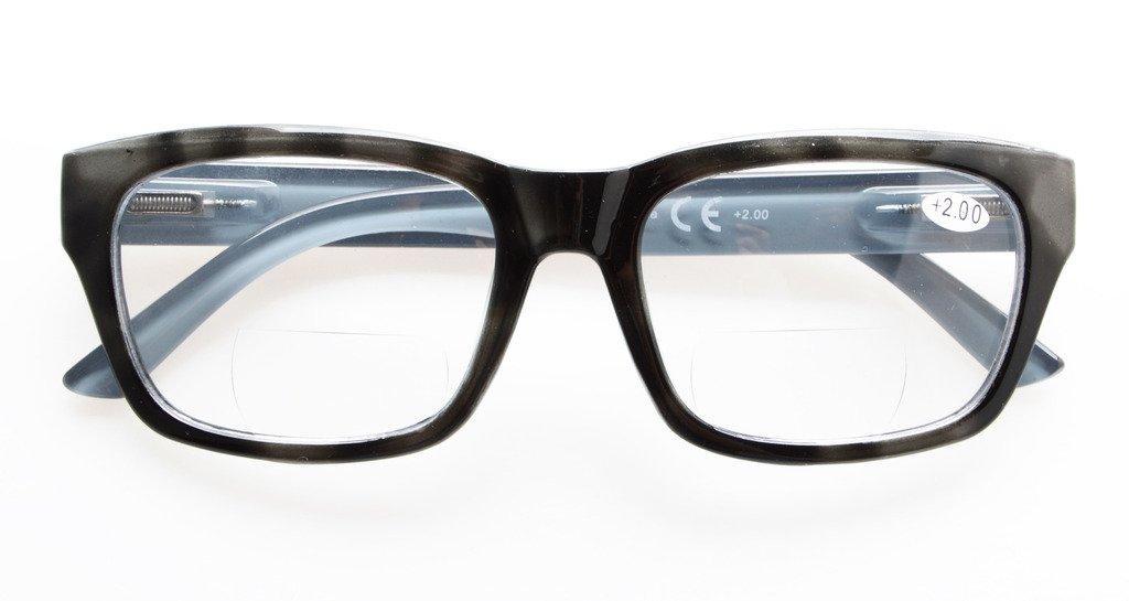 Eyekepper policarbonato Grande Lens Line bifocali Occhiali Lettori Uomini +3.0