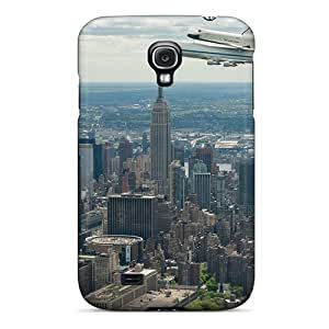 For Galaxy S4 Protector Cases Plane Over New York Phone Covers