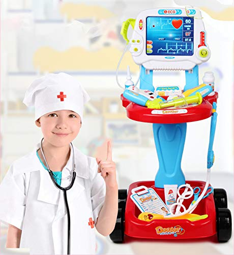 NBD Corp Kids Toy Portable Doctor Set, 17 Piece Set with Play Screen and Play Doctor Instruments by NBD Corp (Image #10)