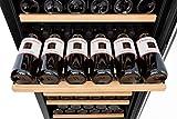 edgestar cwr1661sz 166 bottle edgestar built in compressor wine refrigerator