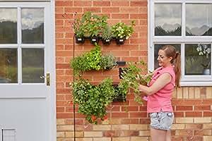 Vertical Kit de jardín de flores y hierbas